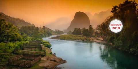 Croisière d'exception au Laos, à la découverte du Triangle d'or, Luang Prabang et Vientiane