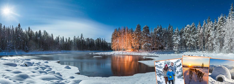 Au cœur de la Laponie Finlandaise