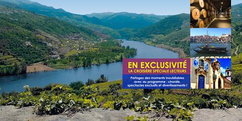 Croisière Lecteurs sur le Douro, avec Jean-Luc EVEQUE