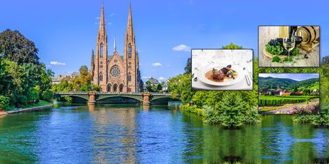 Gastronomie sur le Rhin avec Marc Haeberlin et Serge Dubs
