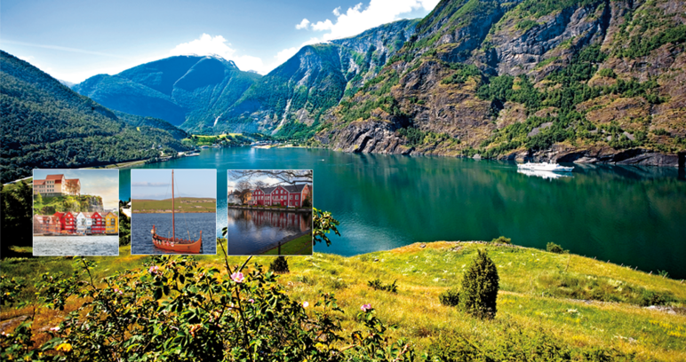 Les fjords du sud de Norvège