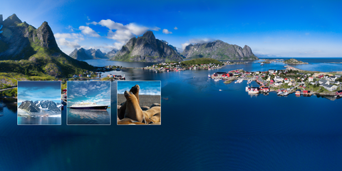 Spitzberg et les Iles Lofoten