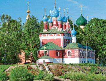 Au fil des fleuves et lacs de Russie