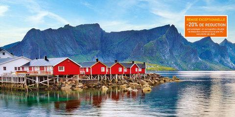 Cap Nord, Iles Lofoten et Fjords de Norvège