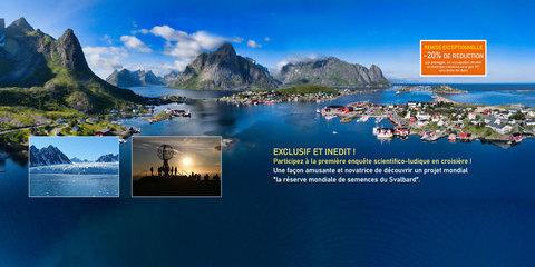 Spitzberg, Cap Nord et les Iles Lofoten
