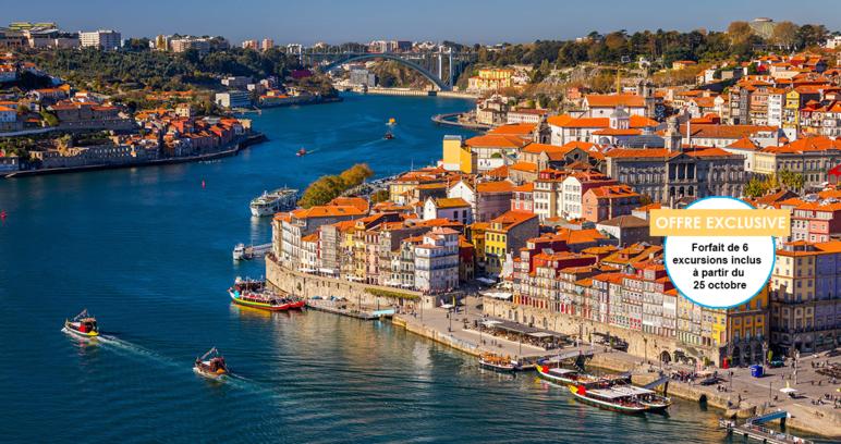 Croisière Douro, route des vins et patrimoine