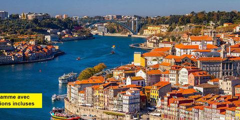 Croisière Douro, route des vins et patrimoine (excursions incluses)
