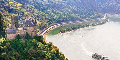 Croisière au cœur de la Vallée du Rhin romantique