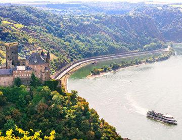 Croisière au coeur de la Vallée du Rhin romantique
