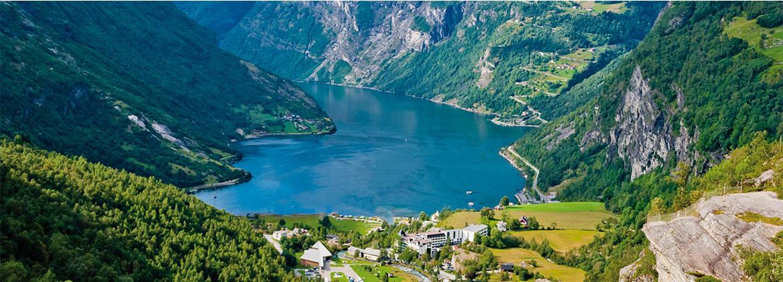 Les Fjords de Norvège