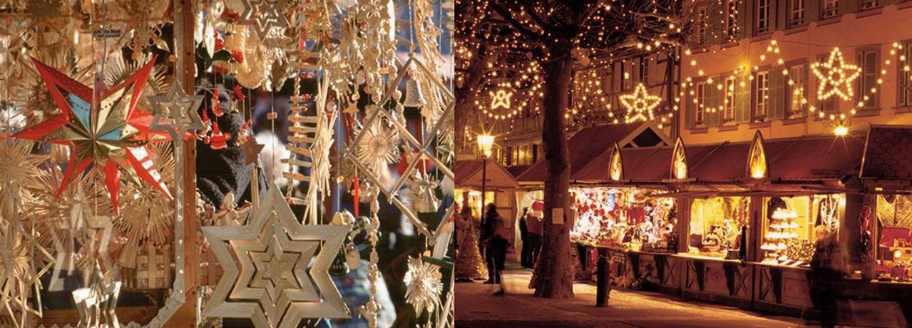 Les marchés de Noël en Alsace et en Forêt-Noire