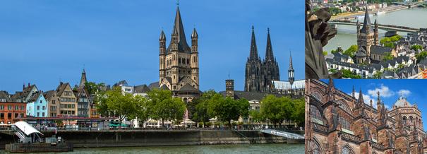 Les plus belles cathédrales de la vallée du Rhin