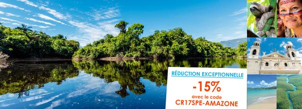 Croisière au cœur de l'Amazone