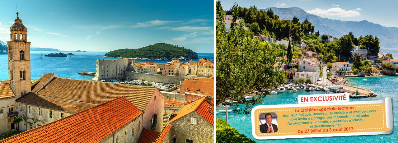 Les perles de l'Adriatique : Croatie et Monténégro