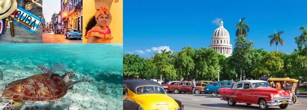 CUBA et les îles des Caraïbes