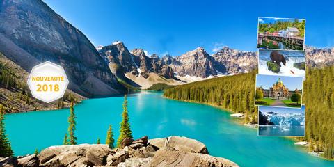 Croisière Alaska et Canada